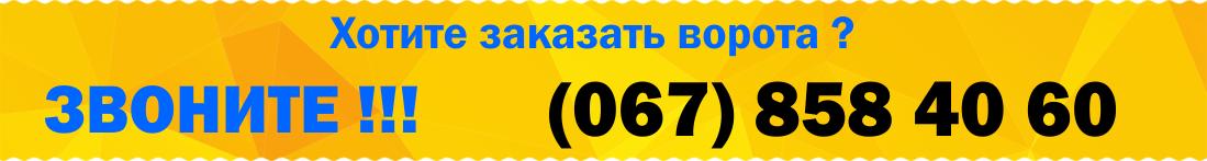 12 - Ворота відкатні Дніпропетровськ