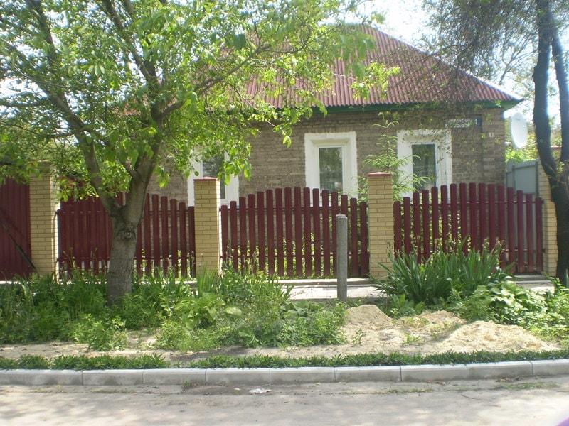 3 13 - Металевий паркан Дніпропетровськ Україна - Високоякісна сучасна огорожа
