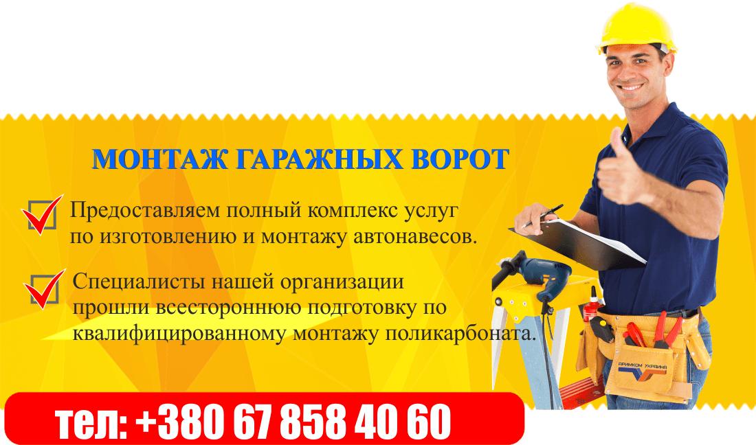 8 1 - Гаражные ворота Днепропетровск